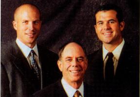 Founding partner Terry Fricks, Greg Fricks and Brad Fricks.