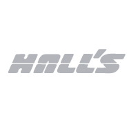 Hall's Warehouse Logo