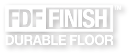 FDF Finish Durable Floor Logo